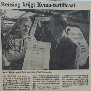 Kema certificaat