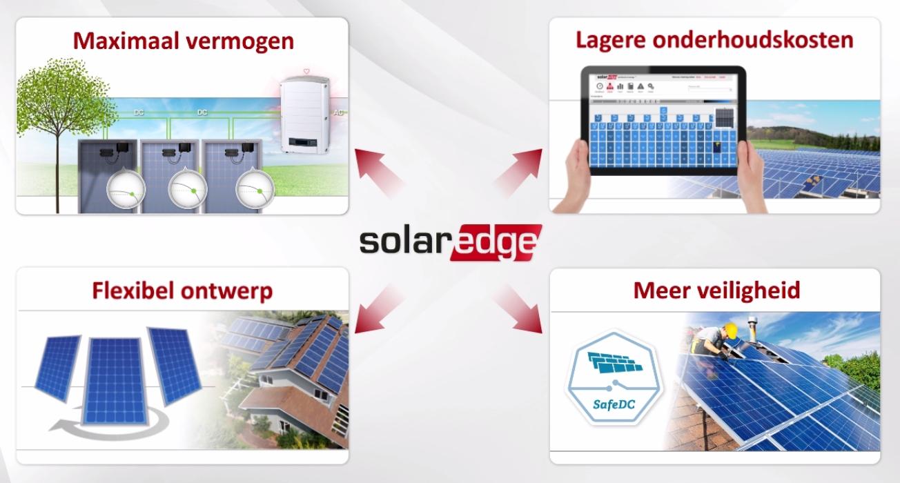 Voordelen solaredge