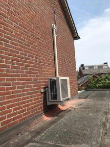 airco met buitenunit geïnstalleerd in Winterswijk